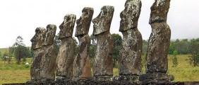 Sochy na Velikonočním ostrově